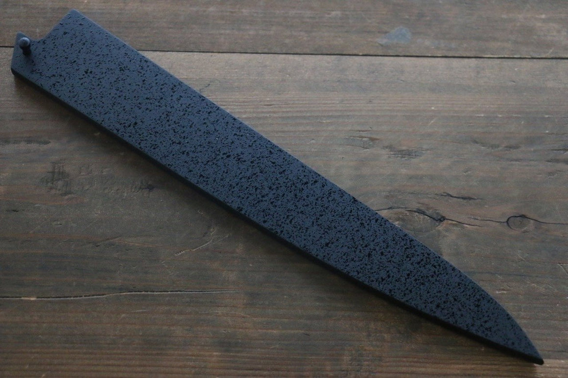 SandPattern Saya Sheath for Sujihiki-Slicer Knife with Plywood Pin-300mm