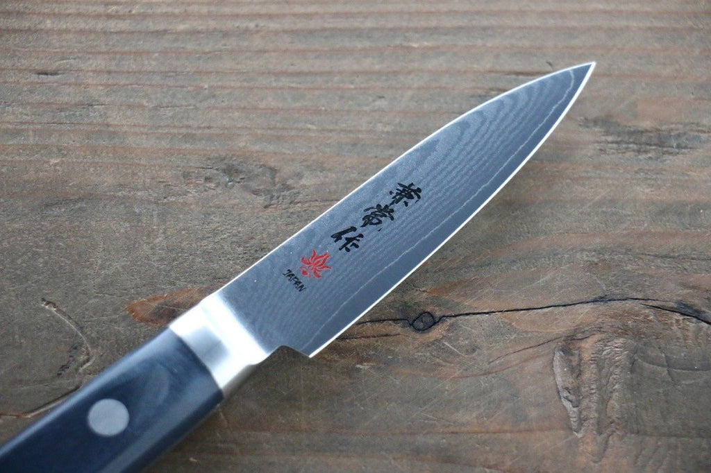 Kanetsune VG10 33 Layer Damascus Petty Japanese Chef Knife 80mm with Plastic handle
