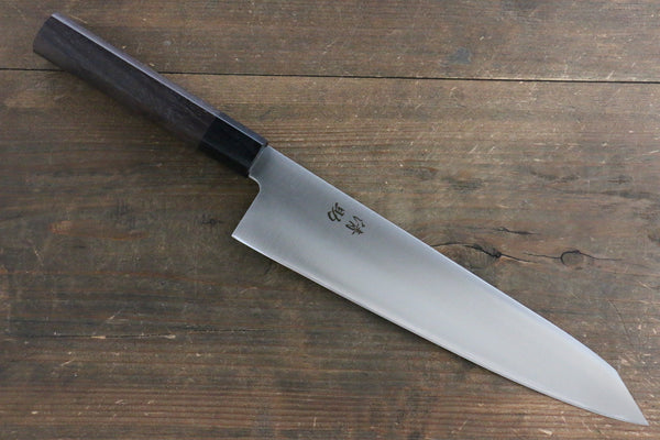 Seisuke Molybdenum Vanadium Kiritsuke Gyuto Japanese Chef Knife 240mm Shitan Rosewood Handle