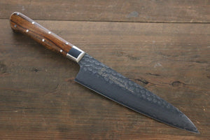 Sakai Takayuki 33 Layer Damascus VG10 Gyuto Japanese Chef Knife 180mm with Desert Iron Wood