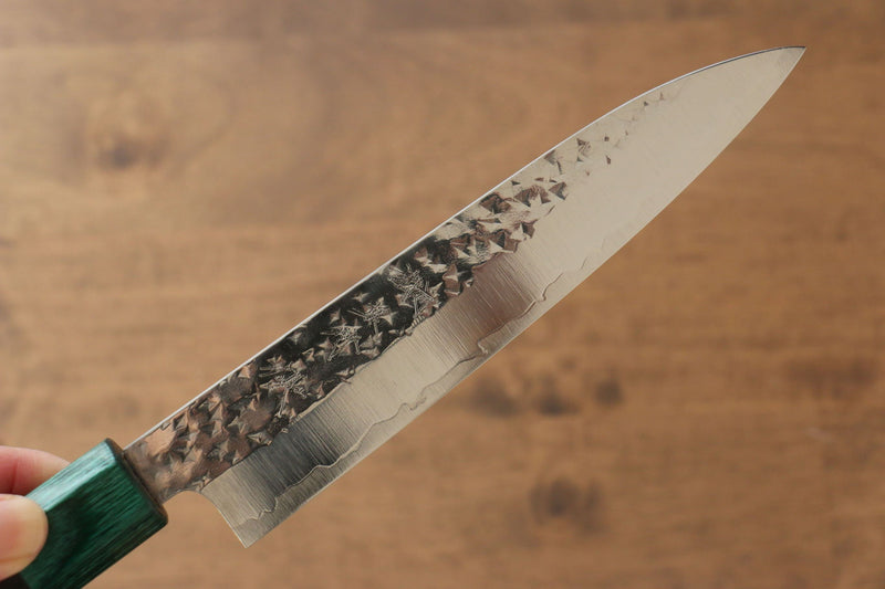 Yu Kurosaki Senko R2/SG2 Hammered Petty-Utility Japanese Knife 150mm Shitan Handle - Japanny - Best Japanese Knife