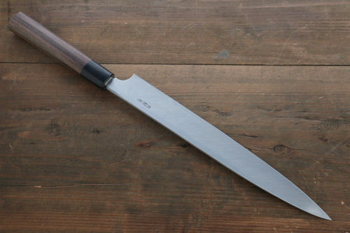 Hideo Kitaoka Blue Steel No.2 Damascus Yanagiba Japanese Chef Knife 270mm - Japanny - Best Japanese Knife