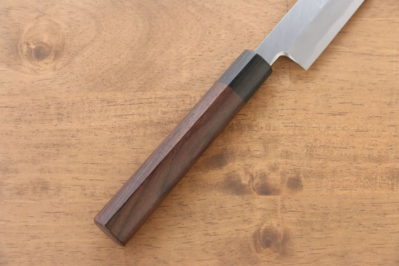 Jikko White Steel No.2 Sakimaru Yanagiba Japanese Knife 270mm Shitan Handle - Japanny - Best Japanese Knife