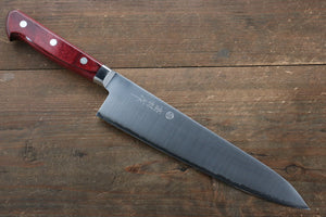 Takamura Knives R2/SG2 Gyuto Japanese Knife 210mm with Red Pakka wood Handle