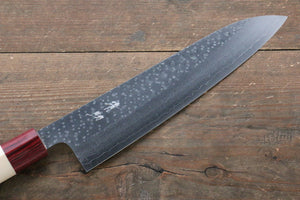 Seisuke VG10 16 Layer Hammered Damascus Gyuto Japanese Knife 210mm with Magnolia Handle
