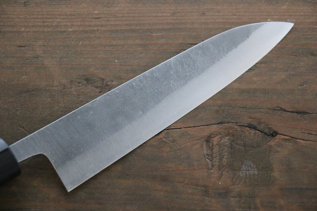 Yoshimi Kato Blue Super Clad Nashiji Petty-Utility Japanese Chef Knife 150mm