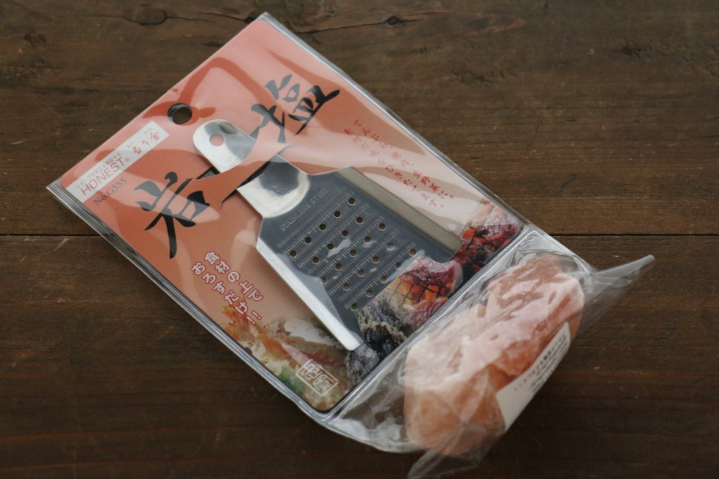 Japanese Grater With Rock Salt
