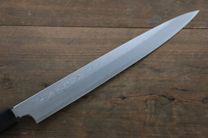 Hideo Kitaoka White Steel No.2 Damascus Yanagiba Japanese Chef Knife 270mm