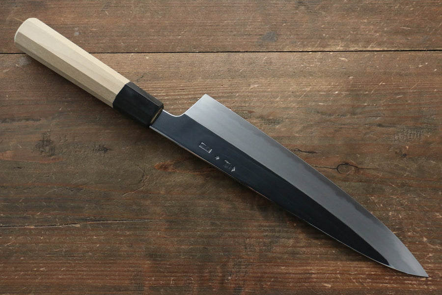 Choyo Blue Steel No.1 Mirrored Finish Gyuto Japanese Knife with Magnolia Handle