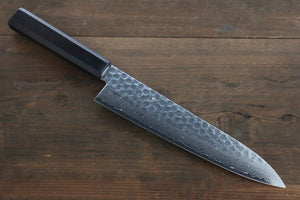 Seisuke AUS-10 45 Layer Damascus Japanese Gyuto Chef Knife, 210mm