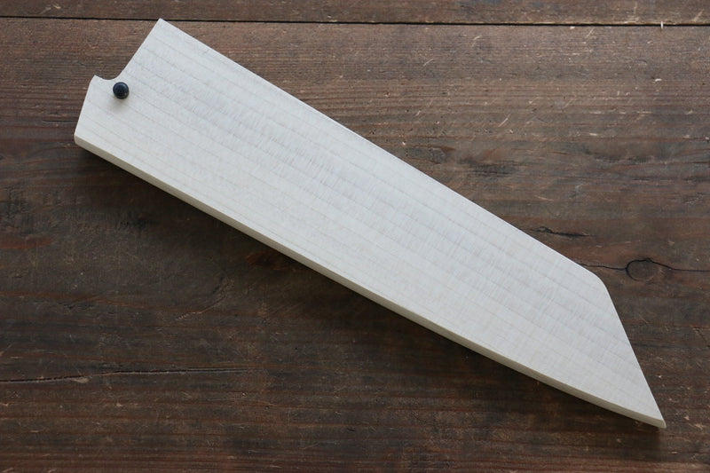 Magnolia Saya Sheath for Kengata Gyuto Knife with Plywood Pin-190mm - Japanny - Best Japanese Knife