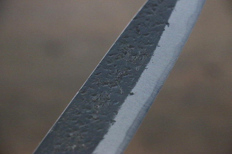 Yu Kurosaki Blue Super Clad Hammered Kurouchi Petty Japanese Chef Knife 120mm - Japanny - Best Japanese Knife