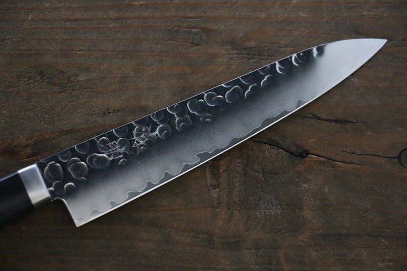 Seisuke VG1 Hammered Petty-Utility Japanese Chef Knife 135mm - Japanny - Best Japanese Knife