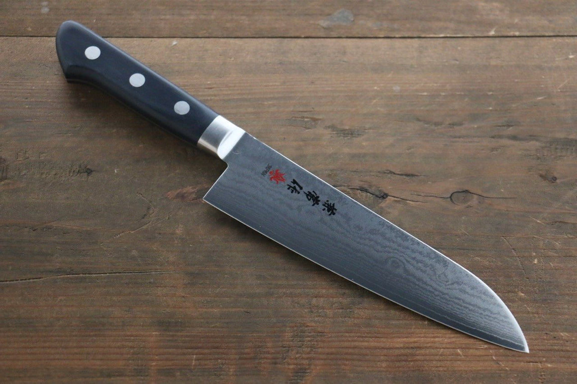Kanetsune VG10 33 Layer Damascus Santoku Japanese Chef Knife 180mm with Plastic handle