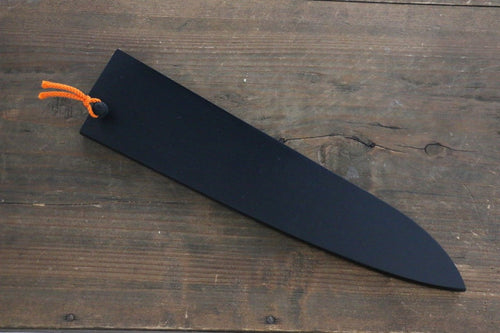 Black Saya Sheath for Gyuto Knife with Plywood Pin 210mm - Japanny - Best Japanese Knife