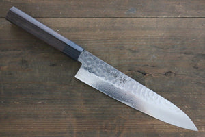 Sakai Takayuki 45 Layer Damascus Japanese Chef's Gyuto Knife 210mm with Shitan Handle