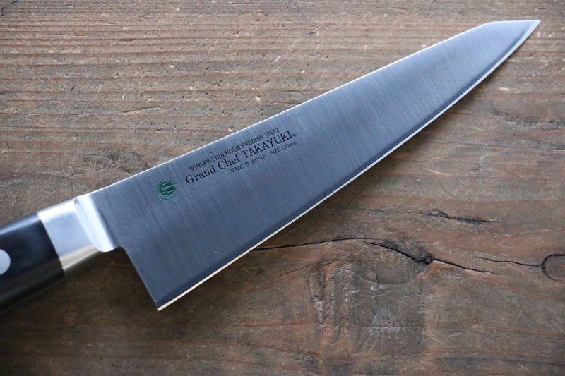 Sakai Takayuki Grand Chef Swedish Steel Honesuki Boning Japanese Knife 150mm - Japanny - Best Japanese Knife