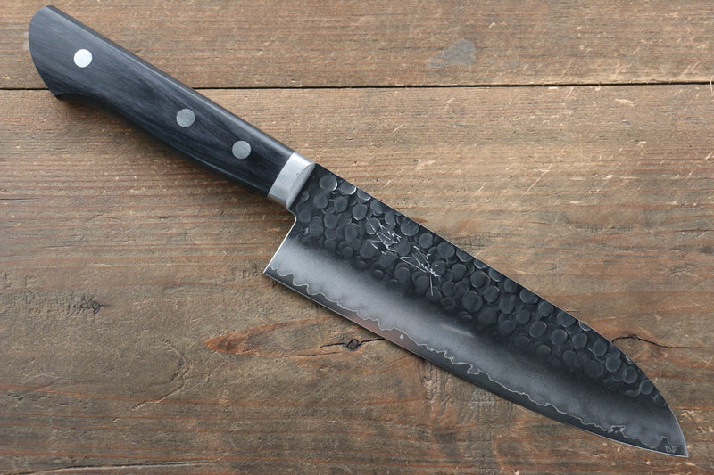 Seisuke VG1 Hammered Japanese Santoku & Petty Knife - Japanny - Best Japanese Knife