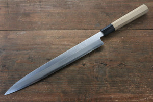 Seisuke [Left Handed] Molybdenum Kasumitogi Yanagiba Japanese Knife 300mm
