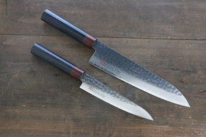 Iseya VG10 33 Layer Damascus Japanese Petty and Gyuto Set
