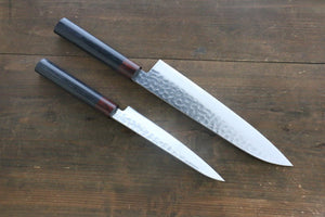 Iseya VG10 33 Layer Damascus Japanese Petty 150mm  and Gyuto 210mm  Set