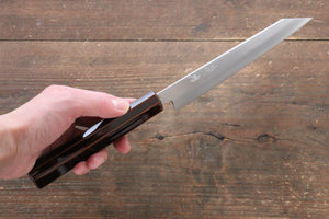 Seisuke Silver Steel No.3 Kiritsuke Petty-Utility Japanese Knife 150mm with Lacquered Handle