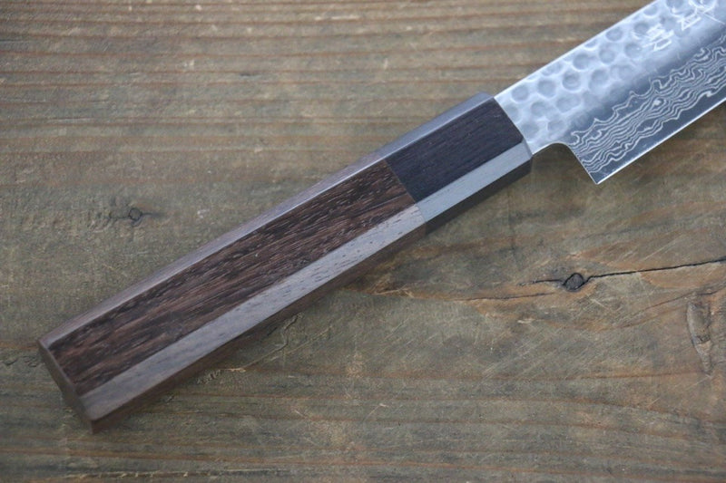 Seisuke AUS-10 45 Layer Damascus Japanese Chef's Petty Utility Knife 150mm - Japanny - Best Japanese Knife