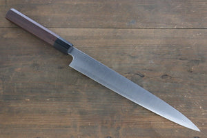 Sukenari ZDP189 3 Layer Sujihiki Japanese Chef Knife 270mm with Rose Wood Handle