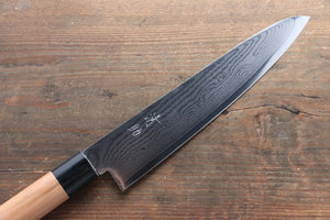 Seisuke VG10 63Layer Damascus Gyuto Japanese Knife 210mm with Cherry Blossoms Handle