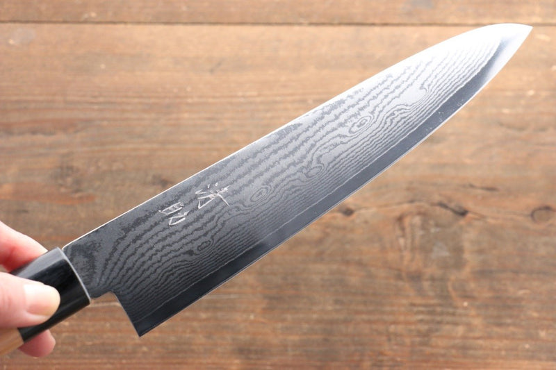 Seisuke VG10 63 Layer Damascus Gyuto Japanese Knife 210mm Cherry Blossoms Handle - Japanny - Best Japanese Knife