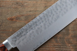 Kunihira VG1 Hammered Japanese Gyuto,Santoku & Usuba Chef Knife Set