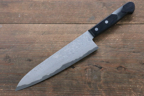 Nao Yamamoto VG10 Black Damascus Gyuto Japanese Knife 200mm with Black Pakka wood Handle - Japanny - Best Japanese Knife