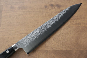 Seisuke VG10 Cobalt Gold Damascus Gyuto Japanese Knife 240mm with Micarta Handle