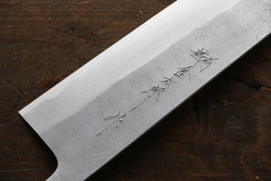 Yoshimi Kato Blue Super Clad Nashiji Gyuto Japanese Chef Knife 240mm