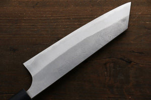 Yoshimi Kato Blue Super Clad Nashiji Bunka Japanese Chef Knife 165mm