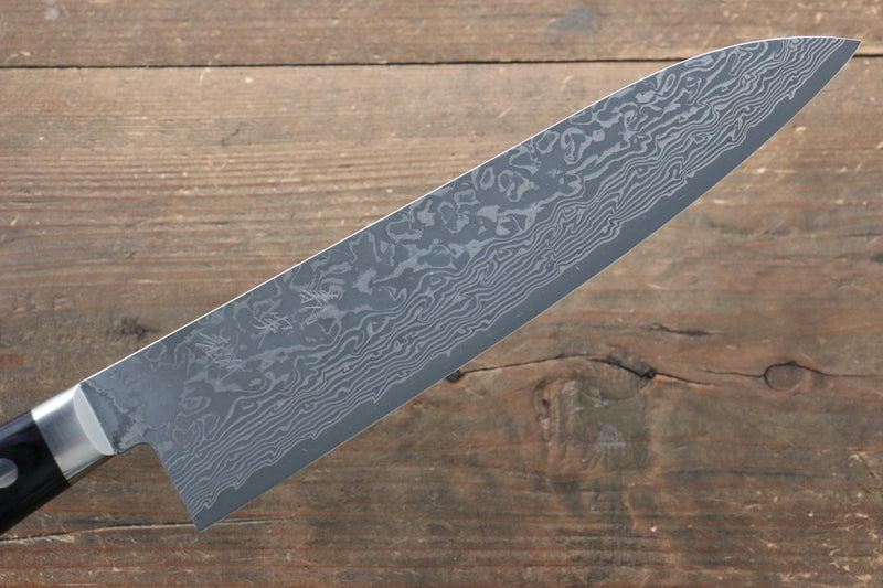 Yoshimi Kato VG10 Damascus Gyuto Japanese Knife 210mm with Black Pakka wood Handle with Saya - Japanny - Best Japanese Knife