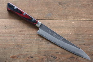 Yoshimi Kato Blue Super Clad Kurouchi Petty-Utility Japanese Chef Knife 150mm