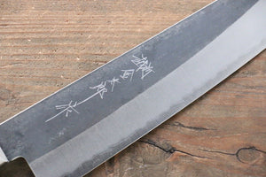 Yoshimi Kato Blue Super Clad Kurouchi Gyuto Japanese Chef Knife 210mm
