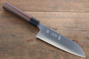 Yu Kurosaki Blue Steel No.2 Santoku Japanese Chef Knife 170mm