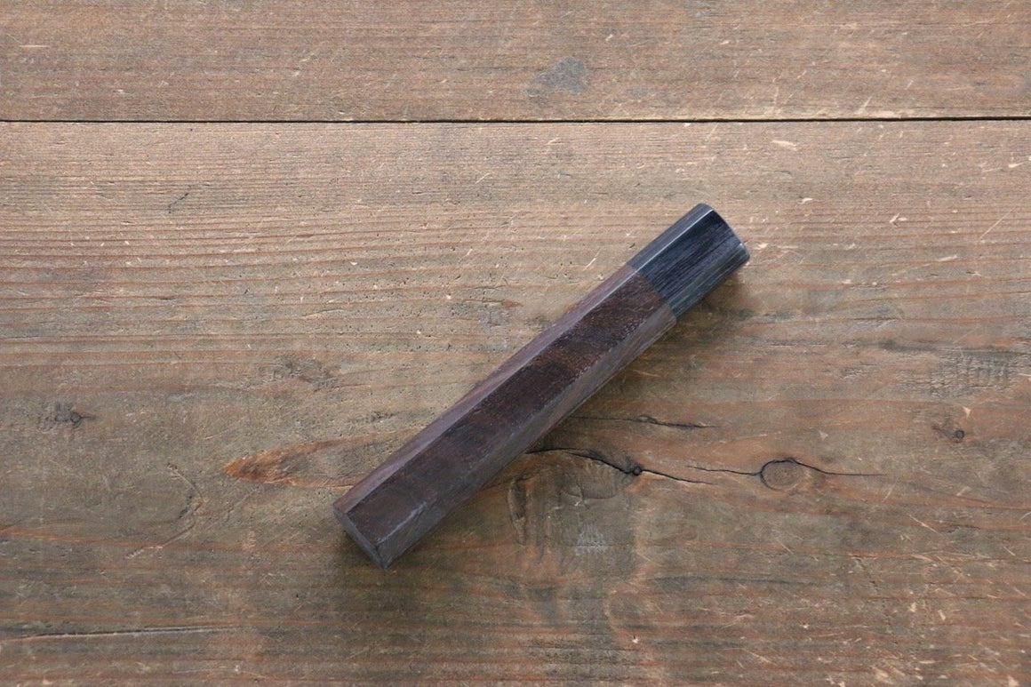 Octagonal Shitan Rosewood Knife Handle for Sujihiki Knife 240mm