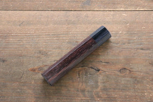 Octagonal Shitan Handle for Nakiri Knife 165mm