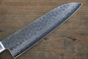 Kanetsune 17 Layer Damascus Santoku Japanese Chef Knife 180mm