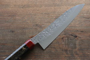 Yu Kurosaki Shizuku R2/SG2 Small Santoku Japanese Knife 155mm with Enji Lacquered Handle