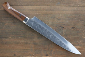 Takeshi Saji SRS13 Hammered Gyuto Japanese Chef Knife 240mm with Iron Wood handle