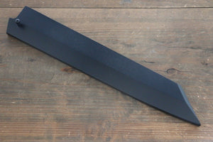 Black Saya Sheath for Kiritsuke Yanagiba Knife with Plywood Pin-270mm
