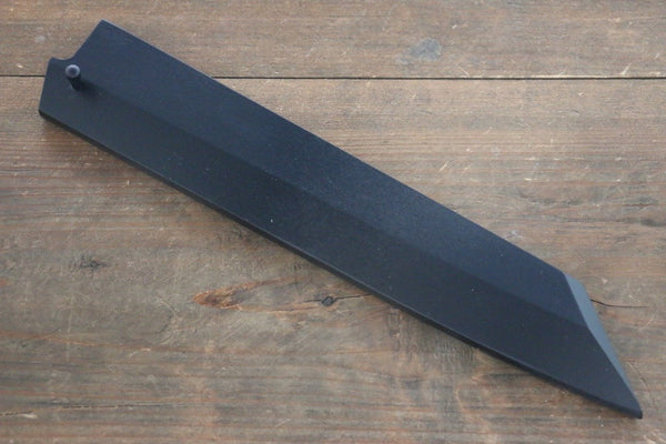 Black Saya Sheath for Kiritsuke Yanagiba Knife with Ebony Pin-240mm