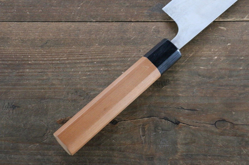 Nao Yamamoto VG10 Damascus Sujihiki Japanese Knife 270mm with Yew Tree Handle - Japanny - Best Japanese Knife