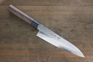 Sakai Takayuki 45 Layer Damascus Japanese Chef's Gyuto Knife 180mm with Shitan Handle