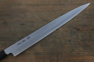 Sakai Takayuki Kasumitogi White Steel Fuguhiki Knife with Water Buffalo Handle