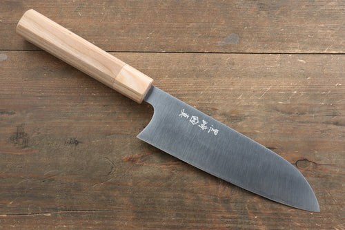 Makoto Kurosaki R2/SG2 Santoku Japanese Chef Knife 165mm with Japanese Cherry Wood Handle - Japanny - Best Japanese Knife